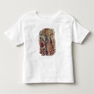 Detail of Charles V  on horseback T-shirt