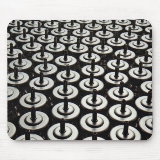 Detail of chemical packaging line mouse pad