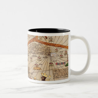 Detail of Copy of a Catalan Map of Europe Coffee Mug