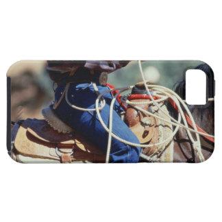 Detail of cowboy on horseback iPhone SE/5/5s case