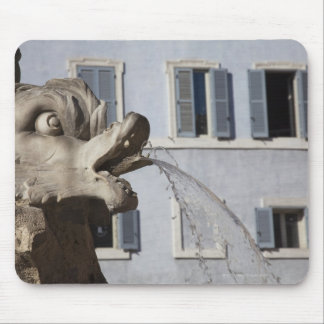 detail of fish on the Fontana de la Pantheon in Mouse Pad