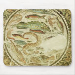 Detail of fish, The Four Seasons, from Vega Baja Mouse Pad