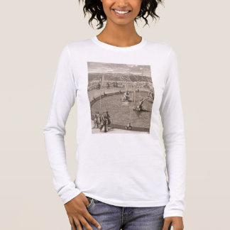 Detail of Fountain of Diana and Apollo at Versaill Long Sleeve T-Shirt