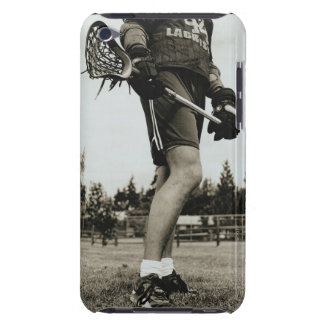 Detail of Lacrosse Athlete Barely There iPod Case
