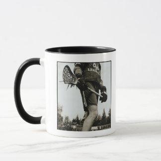 Detail of Lacrosse Athlete Mug