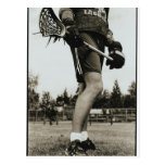 Detail of Lacrosse Athlete Post Cards