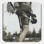 Detail of Lacrosse Athlete Sticker