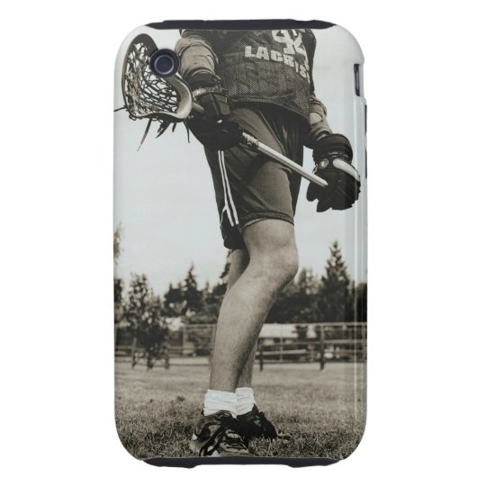 Detail of Lacrosse Athlete Tough iPhone 3 Cover