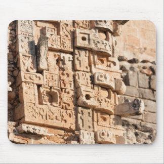 Detail Of Magician Pyramid, Yucatan, Mexico Mouse Pad