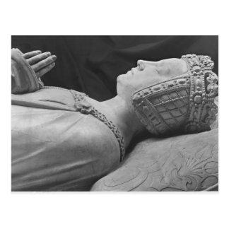 Detail of Marguerite de Foix Postcard