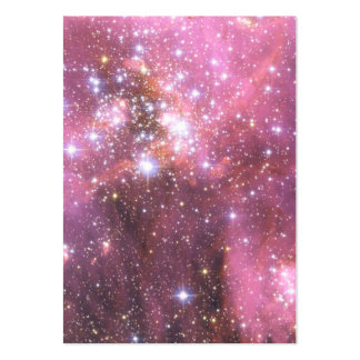 Detail of NGC 346 in Pink Business Card Templates