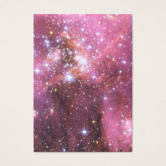 Detail of NGC 346 in Pink Business Card