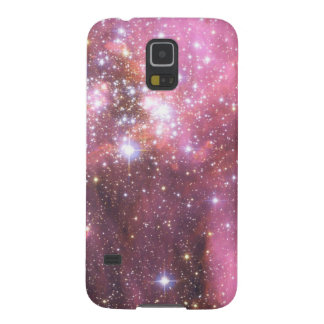 Detail of NGC 346 in Pink Galaxy S5 Cover