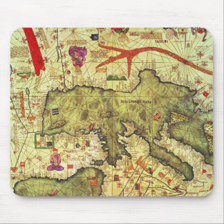 Detail of North Africa and Europe Mouse Pad