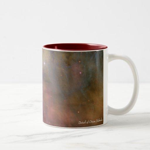 Detail of Orion Nebula Mugs