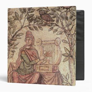 Detail of Orpheus charming the animals Vinyl Binders