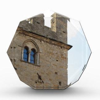 Detail of Palazzo dei Priori in Volterra village Award