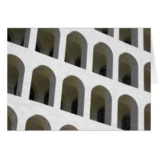 Detail of Palazzo della civilta' romana Card