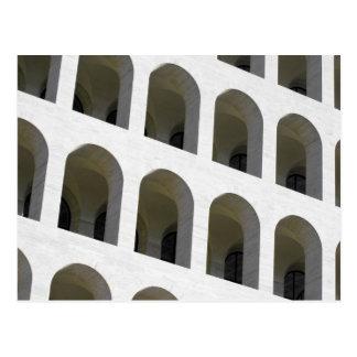 Detail of Palazzo della civilta' romana Postcard