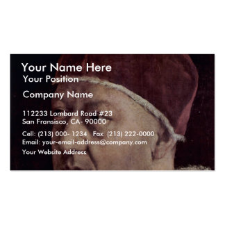 Detail Of Portrait Of Pope Leo X With His Cousins Business Card Templates