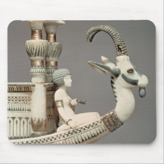 Detail of prow of a boat with head of Syrian Mouse Pad