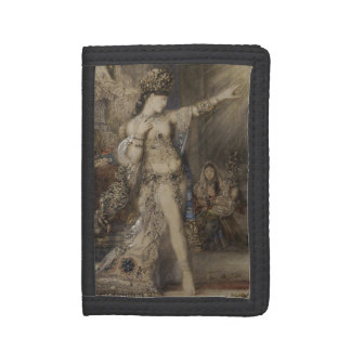 Detail of Salome and Apparition by Gustave Moreau Tri-fold Wallets