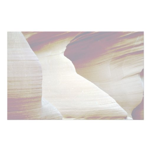 Detail of sandstone, Antelope Canyon, Page, Arizon Custom Stationery