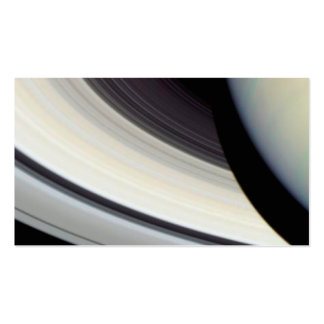 Detail of Saturn s Rings Disk and Shadow Business Cards