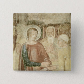 Detail of St. Ranieri in the Holy Land Button