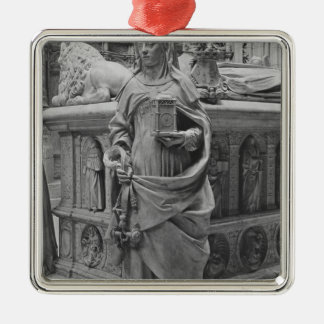 Detail of Temperance Christmas Ornament