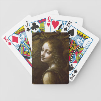 Detail of the Angel Bicycle Playing Cards