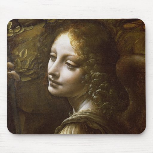 Detail of the Angel Mouse Pad