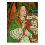 Detail of the Archangel Gabriel Postcard