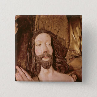 Detail of the Baptism of Christ Pinback Button