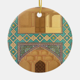 Detail of the Courtyard Arcades in the Medrese-i-S Christmas Ornaments