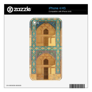 Detail of the Courtyard Arcades in the Medrese-i-S Skins For The iPhone 4