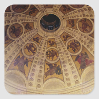 Detail of the dome, built 1635-42 square sticker