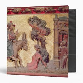Detail of the entry of Christ into Jerusalem Binder