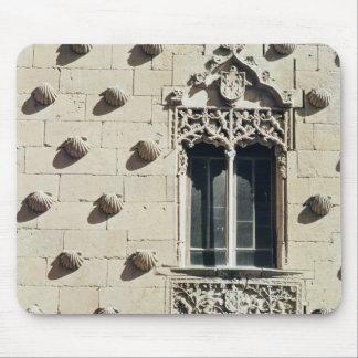 Detail of the exterior of the Casa de la Conchas Mouse Pad
