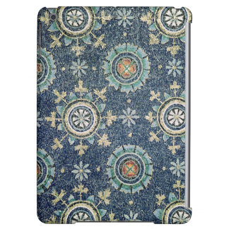 Detail of the floral decoration from the vault iPad air case