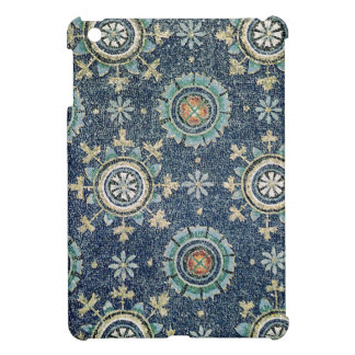 Detail of the floral decoration from the vault iPad mini covers