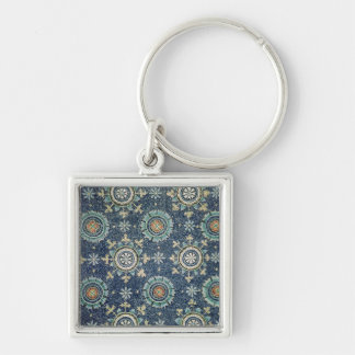 Detail of the floral decoration from the vault key chains