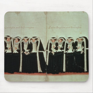 Detail of the Funeral Procession Mouse Pad
