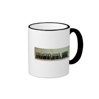 Detail of the Funeral Procession Ringer Coffee Mug