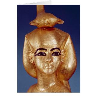 Detail of the goddess Selket Card