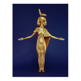 Detail of the goddess Selket Postcard
