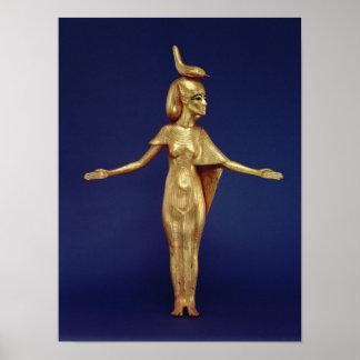 Detail of the goddess Selket Print