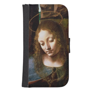 Detail of the Head of the Virgin Samsung S4 Wallet Case