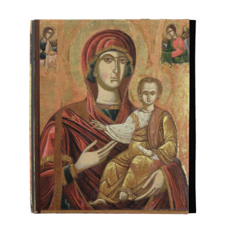 Detail of the Madonna and Child from the Iconostas iPad Case
