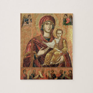 Detail of the Madonna and Child from the Iconostas Jigsaw Puzzle
